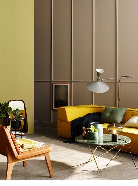 Die besten 25+ Olivgrüne zimmer Ideen auf Pinterest Olivgrüne - wohnzimmer grun schwarz