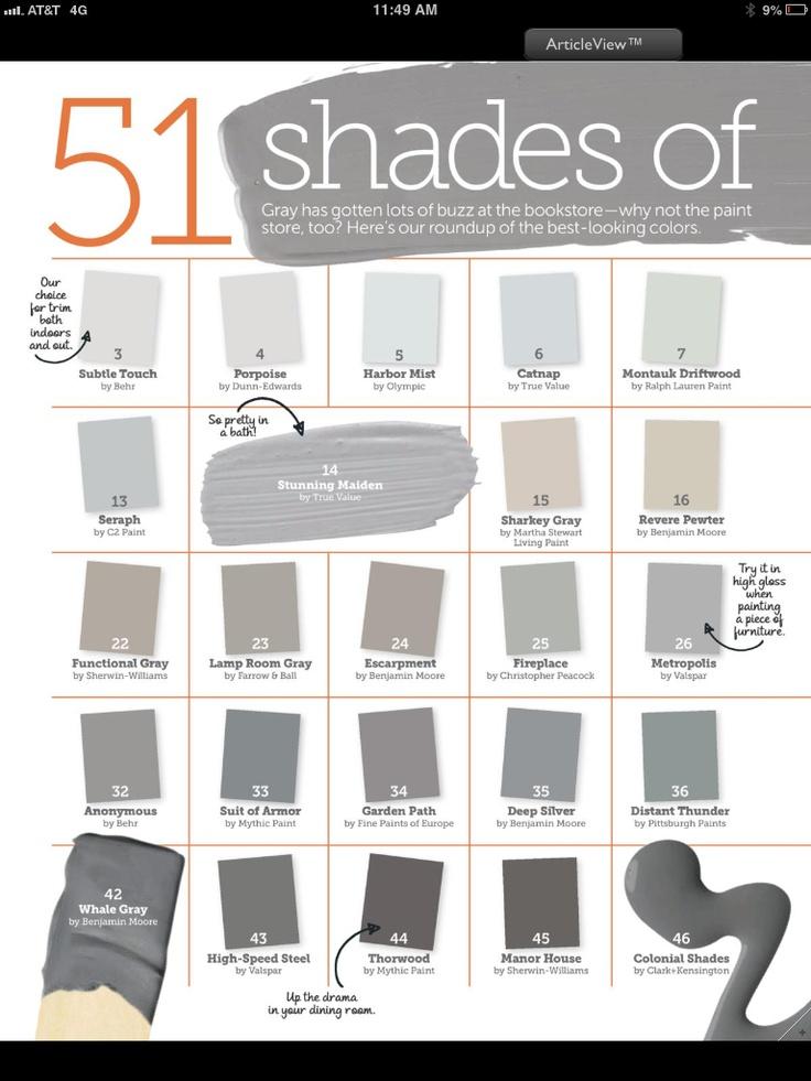 Shades of Greys