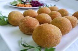 Petites croquettes de pommes de terre fourrées au #kiri !
