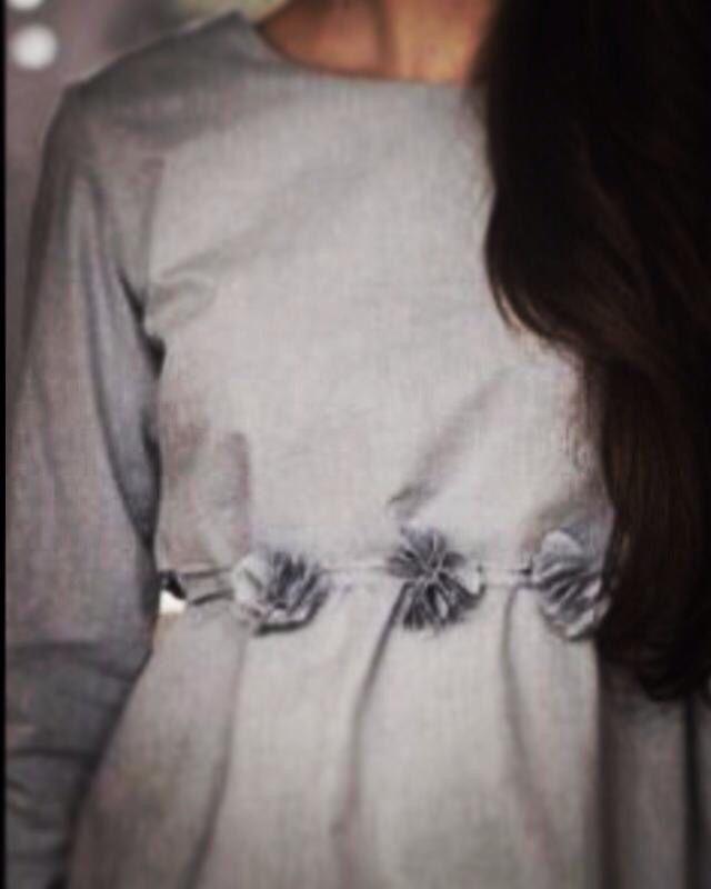 Camicia Alessia e cinturina fiori rialto48 A.I.2015/16