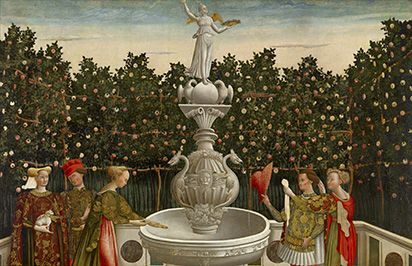 The National Gallery of Victoria - well worth a visit for their collection and whatever happens to be visiting, as good as any international gallery I've visited. Above: The Garden of Love (c. 1465-1470)