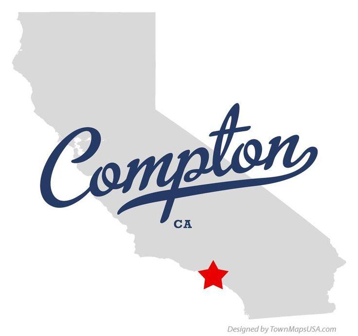 Compton California CA