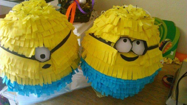 πινιατα piñata piniata γενέθλια birthday party minions