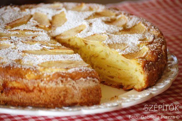 Eredeti olasz recept: Giusy almatortája