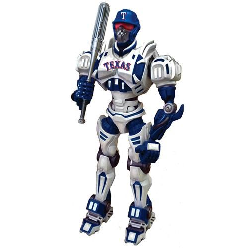 "Foam Fanatics MLB 10"" Team Cleatus Robot - Texas Rangers"