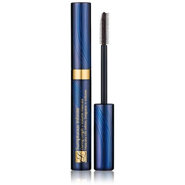 Estee Lauder Sumptuous Infinite Daring Length + Volume Mascara ($26) ❤ liked on Polyvore featuring beauty products, makeup, eye makeup, mascara, beauty, eyes, black, estee lauder eye makeup, estée lauder and estee lauder mascara