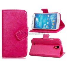 Keinonahkainen suojakotelo Samsung Galaxy S4, pinkki