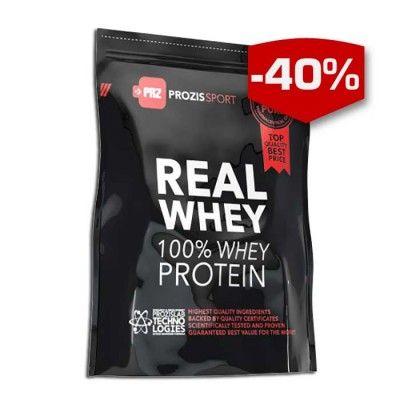 Ett av Europas bästsäljande protein nu finns nu hos Budo & Fitness. Prozis Sport 100% Real Whey Protein – Högkvalitativt vassleprotein. Högkvalitativt vassleproteinet, rikt på BCAA som kommer hjälpa dig öka din muskelmassa och bibehålla svårförtjänta muskler. Var ärlig!