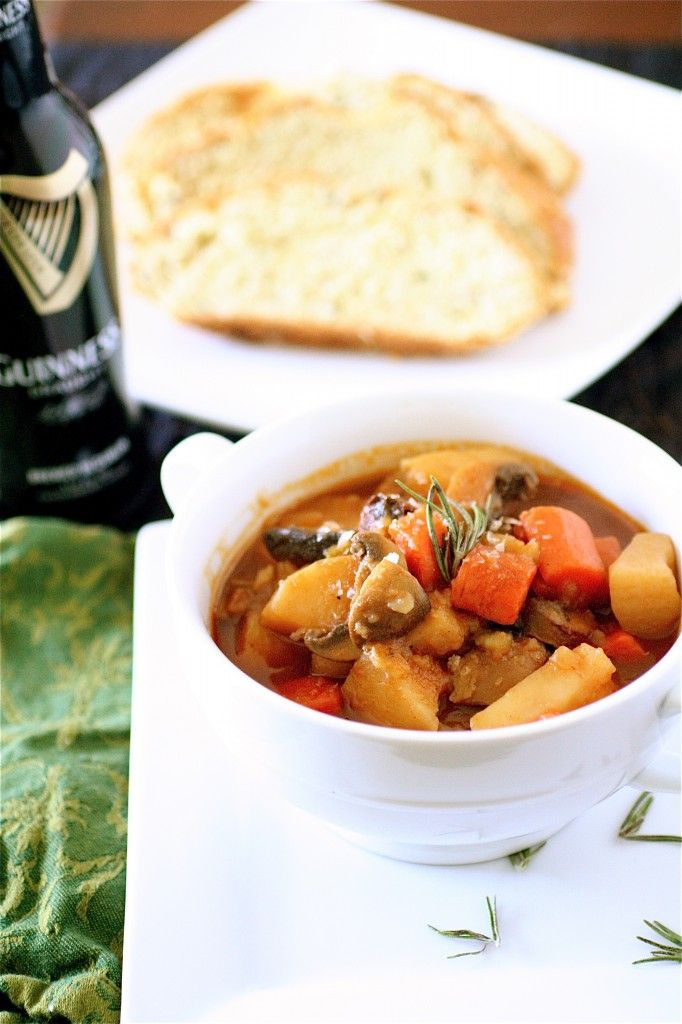 No-Meat Guinness Stew