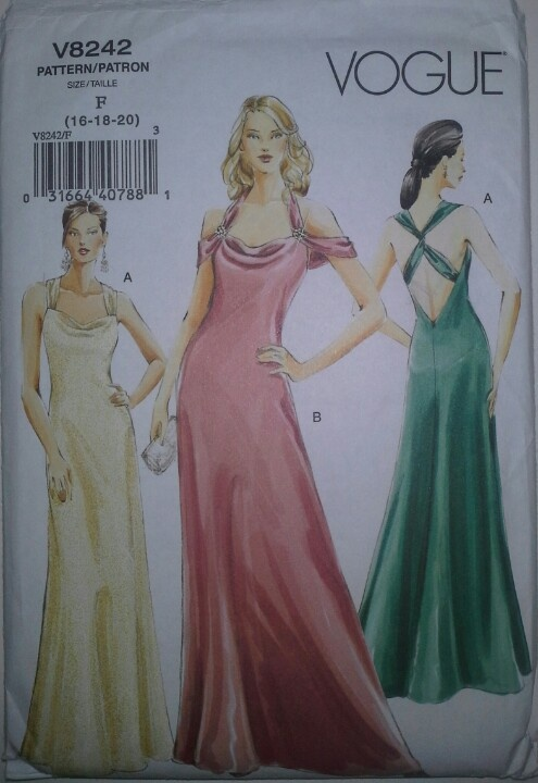 Formal Bias Cut Dress Were Huge In The 1930s With A
