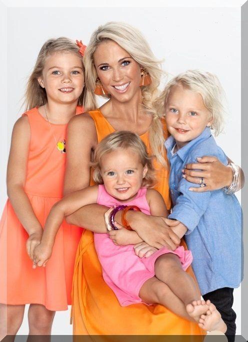 Lleyton Hewitt's Children - Mia Cruz Ava. Such a bright healthy looking bunch