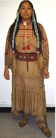 Lakota woman.