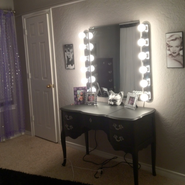 makeup mirror for 75 materials purchased at lowes