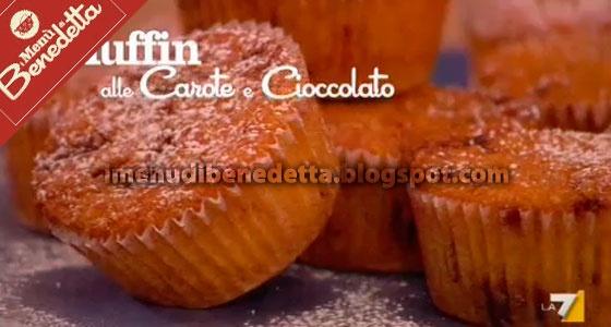 muffins carote e cioccolato