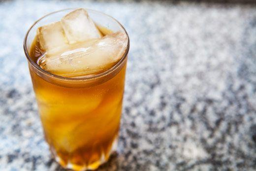 Homemade Sassafras Root Beer (not brewed - you mix in soda water)