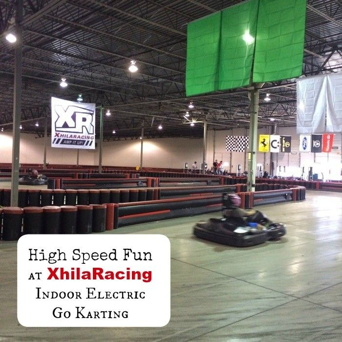 XhilaRacing Electric Indoor Karting  offers high speed fun without the noise or exhaust fumes.