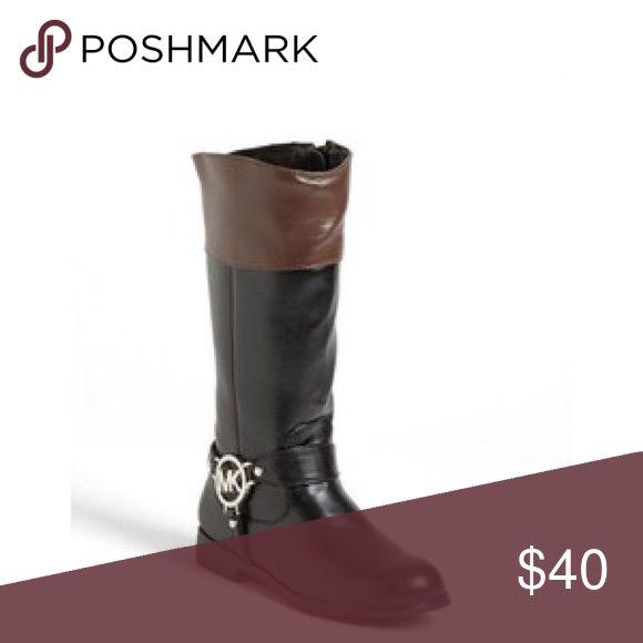 Girls MK boots Michael Kors mid calf boots KORS Michael Kors Shoes Boots