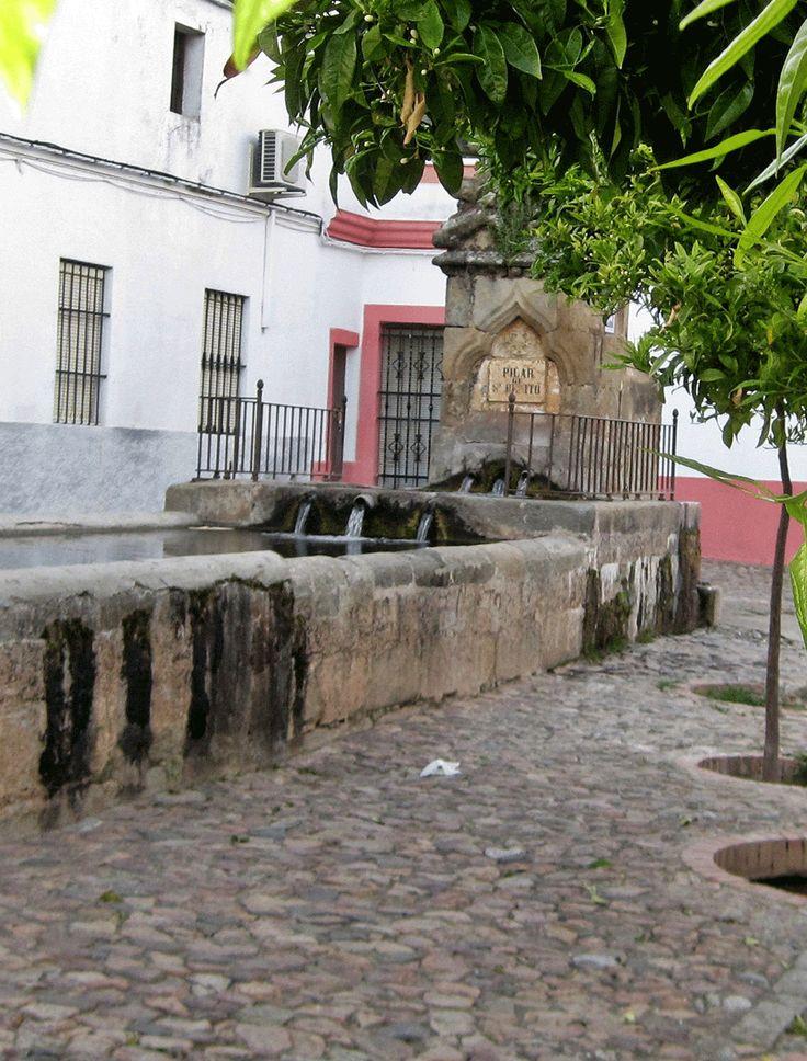 Pilar de San Benito.