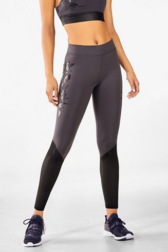 920fac4a11d High-Waisted Solid Heathered 7 8 - Fabletics