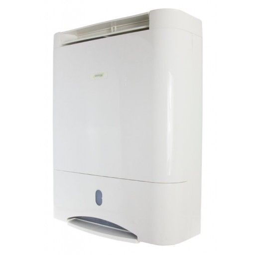 The Ionmax ION632 Desiccant Dehumidifier helps you to maintain an optimum level of humidity in your home or office. It helps to reduce common problems such as the growth of mould and mildew, sinuses, asthma, skin problems, rotting furniture, and bacteria that are caused by air that's too humid or damp.  As a desiccant rotor dehumidifier, the ION632 can run from 0 to 30 degrees Celcius with a constant and stable intake of humid air and helps to save you on electricity usage. And unlike…