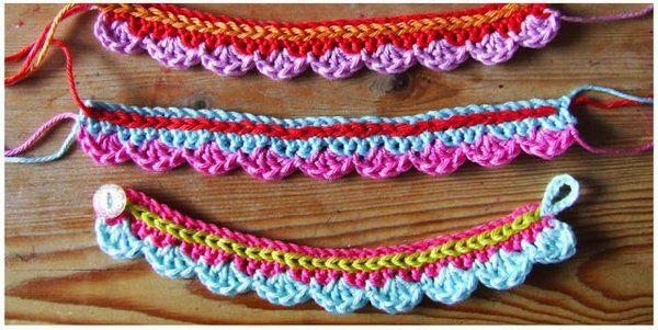 10 modèles gratuits de bracelets au tricot ou au crochet – AnnyMay
