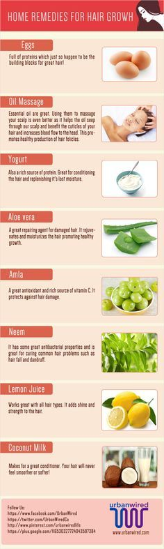 Home remedies for hair growth will not only increase the length of your hair but will also make them shinier and softer. Check out Remedies for Hair Growth.
