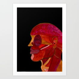 THREE PENTA THREEPENTA Anatomy Art Print