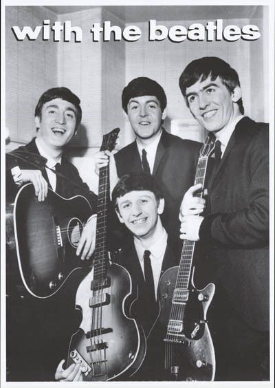Beatles Nice Lads from Liverpool Poster 23x33 – BananaRoad