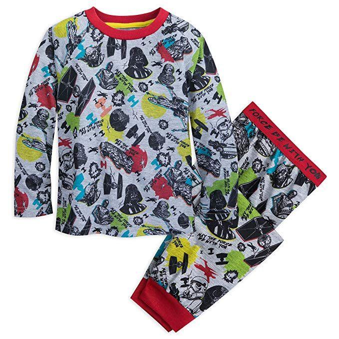 Kids Boy Girls Superhero Short Sleeve Top Short Pajamas Outfit Set Age 2-8 Years
