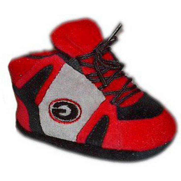 Comfy Feet NCAA Baby Slippers - Georgia Bulldogs - GEO03PR
