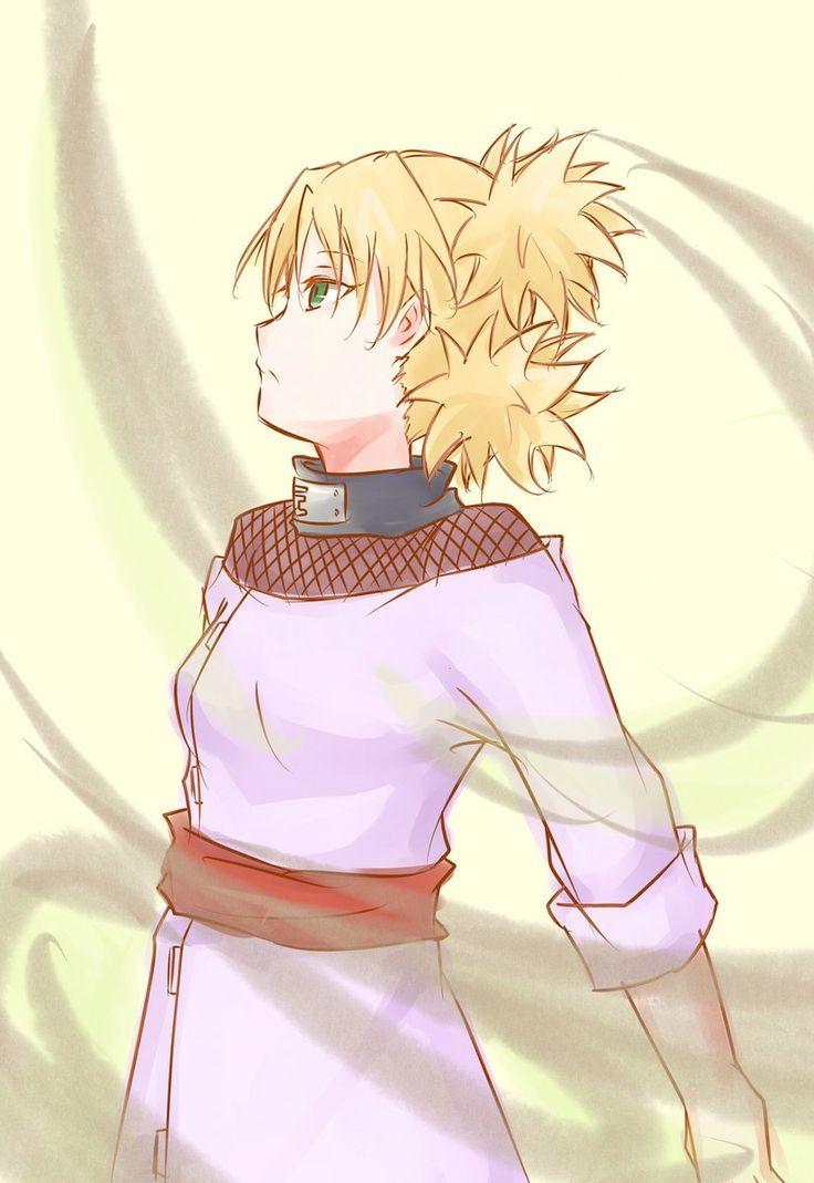 Demon Fox and Desert Flower Naruto and Temari