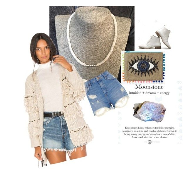 """""""Love you 2 the moonstone"""" by lkcrystallove on Polyvore featuring Jens Pirate Booty, Express and River Island"""