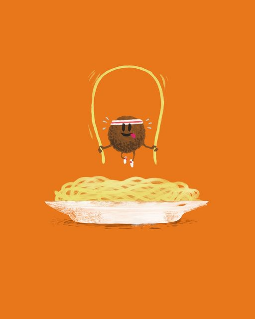 I recently had a dream that the world was completely covered in spaghetti.