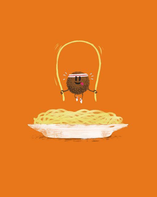 Spaghettin' Fit by Laser Bread, via Flickr