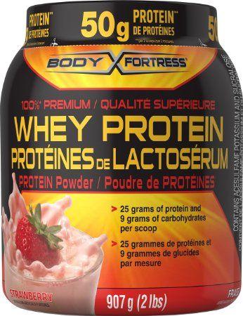 #AmazonCA #AmazonCanada: $23.99: $17.99 Body Fortress Whey Protein Powder…