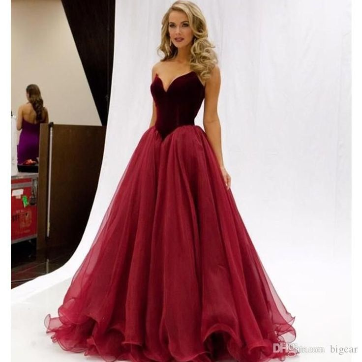 Prom Dress Long Dark Red Princess Formal Occasion Dress with Corset Back Prom Dress Occasion Dress Formal Dress Online with $137.15/Piece on Bigear's Store | DHgate.com Occasion Dresses, dress, clothe, women's fashion, outfit inspiration, pretty clothes, shoes, bags and accessories