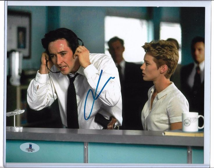 John Cusack autographed 8x10 Photo Con Air Beckett BGS BAS COA Sticker Only