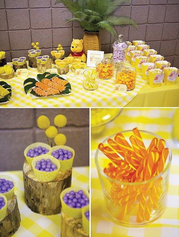 winnie the pooh baby shower party ideas - Bing Images