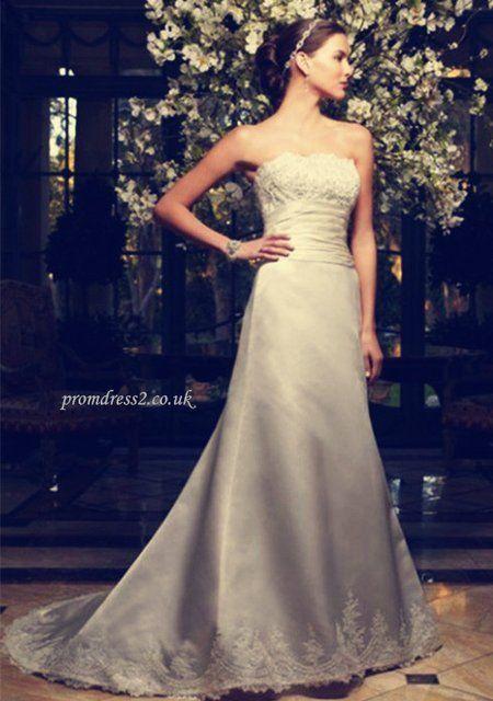 Appliques Wedding Dress