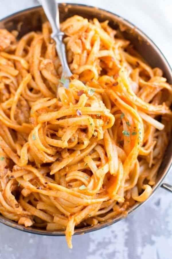 Firecracker Chicken Pasta