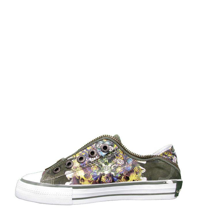 Ed Hardy Lowrise Bronx Shoe for Kids - Camo - Yvonne's #shoes