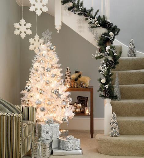 Decoracion Navideña Blanca