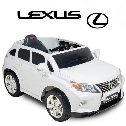 Ride On Toy License Lexus Rx350 Bluetooth Remote Control 12v 7ah