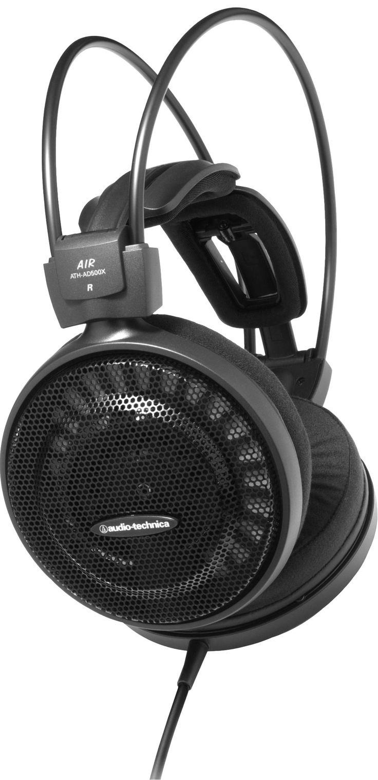AURICULARES ATH – AD500X DE AUDIO-TECHNICA. Auriculares dinámicos. Diseñados para una comodidad y un rendimiento acústico excepcionales. #auriculares #Hifi #AudioTechnica