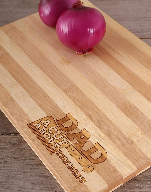 Buy DAD - A Cut Above The Rest Board Online -Gifts for dad and men