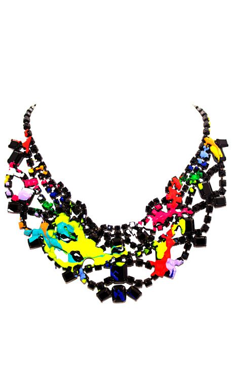 Graphic Content Spring/Summer 2014  Tom Binns Au Fait Necklace