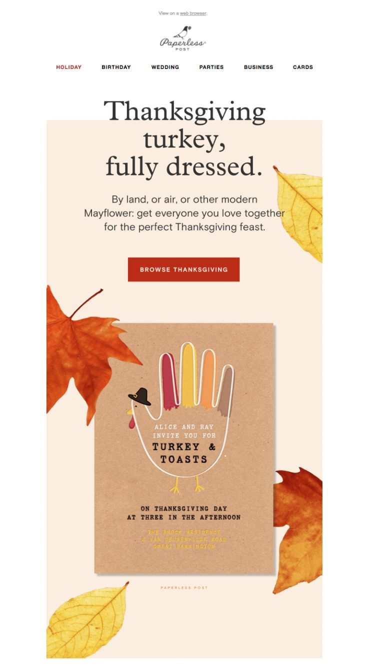 21 best Thanksgiving Email Design images on Pinterest   Email design ...
