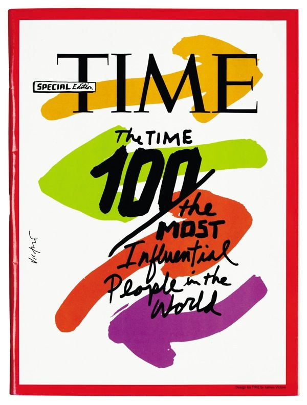 Time  Magazine cover  Time magazine  AD: Arthur Hochstein  2008  © James Victore