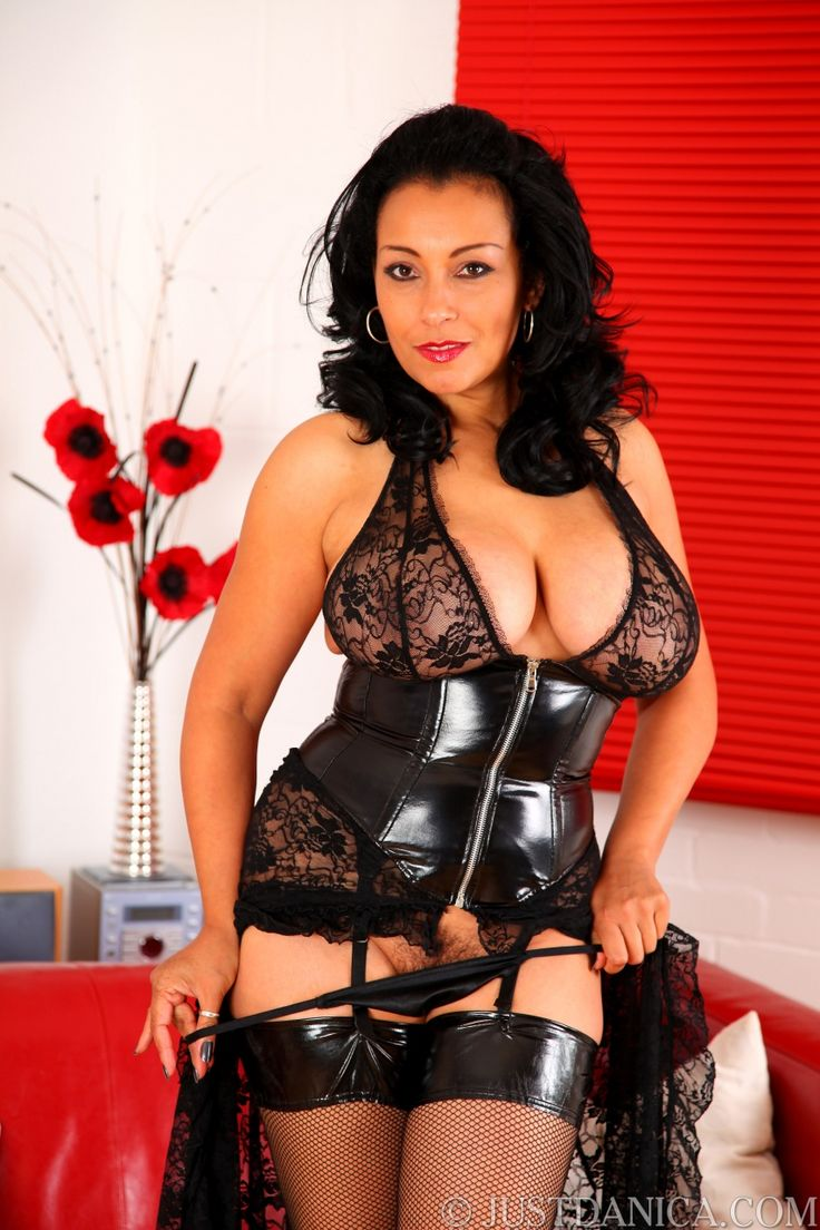 Mistress Danica In Latex Girdle Lace And Nylons