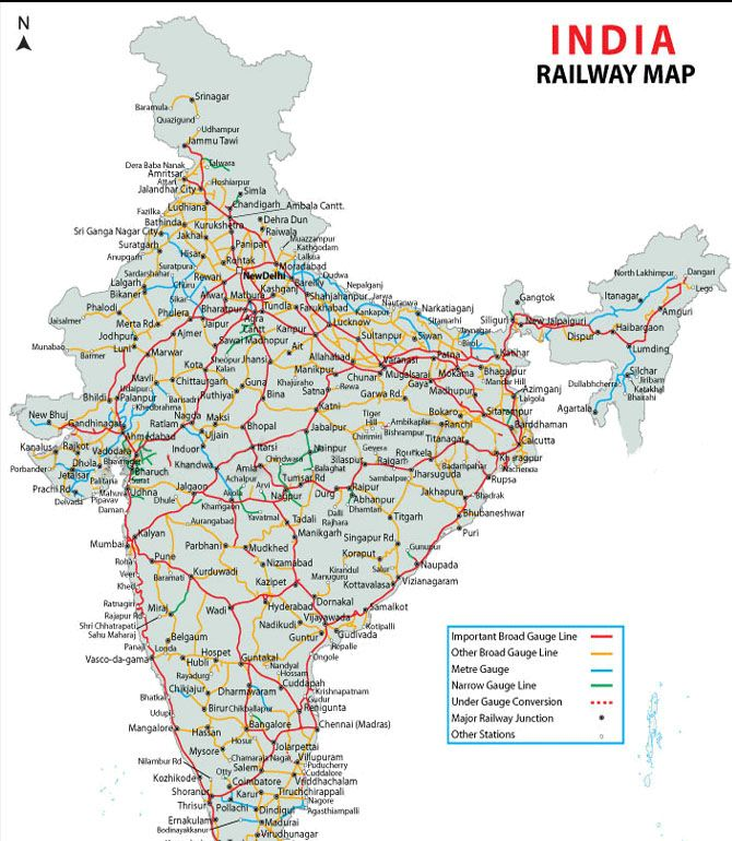 indian train route map Rail Map India India Railway India Map Indian Railways indian train route map